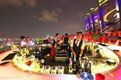 When it comes to nightlife in Ho Chi Minh City, there's no better place to party in style than a sleek rooftop bar. Offering panoramic views of the vibrant city and beyond, Saigon's rooftop bars are rated as some of the best in the world. From