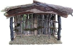 dk Art and Stuff: Creche How-To Make a Nativity Stable Nativity House, Nativity Stable, Nativity Creche, Nativity Scenes, Simple Nativity, Christmas Manger, Christmas Nativity Scene, Merry Little Christmas, Christmas Crafts