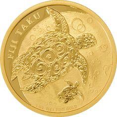 New Zealand Mint 1oz Gold Fiji Taku Coin