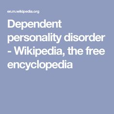 44 Best Personality Disorders images in 2018 | Personality