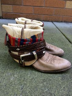 Moon sister boot.. Free people style repurposed cowboy boot on Etsy, $80.00