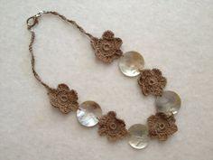 Handmade Crochet Necklaces by hebaalayyan on Etsy, $21.00
