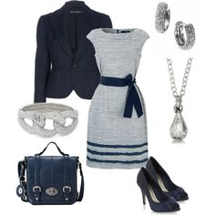 Navy and Silver --//-- EEP!! LOVE!!
