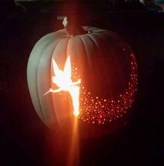 Tinkerbell pumpkin