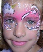 Fairy Tale Unicorn Face Paint