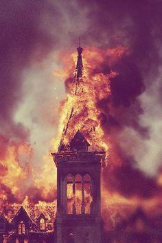 """""""La única iglesia que ilumina es la que arde."""""""