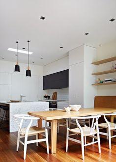 Una casa de pueblo en Melbourne con una imagen muy urbanita.