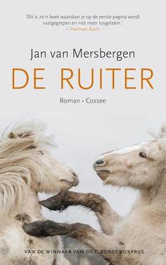 45/52 De ruiter door Jan van Mersbergen. Een bijzonder boek vanuit een paard geschreven. Wel heel geloofwaardig gedaan maar het verhaal zelf vond ik wat minder.