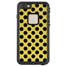 Purchase a new Black Polka Dot case for your iPhone! Shop through thousands of designs for the iPhone iPhone 11 Pro, iPhone 11 Pro Max and all the previous models! Iphone Case Covers, Phone Cases, 6s Plus Case, Online Gifts, Personalized Gifts, Create Your Own, Iphone 6, Craft Projects, Polka Dots