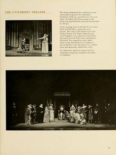"Athena Yearbook, 1953. ""University Theater"" :: Ohio University Archives"