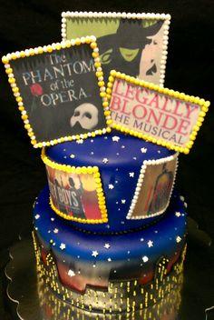 Broadway Birthday Cake
