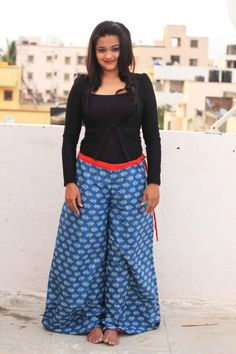 WIDE LEG Pants  Womens Harem Pants  Skirt Pants  Baggy by aaberi, $27.00