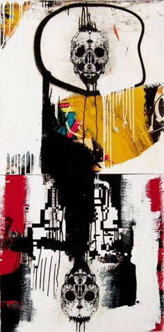 "Saatchi Art Artist Zsolt Gyarmati; Painting, ""Superlooper Architype"" #art"
