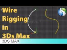 Wire Rigging in Max - Beginner Tutorial Zbrush Tutorial, 3d Tutorial, Photoshop Tutorial, 3ds Max Tutorials, 3d Computer Graphics, Cinema 4d Tutorial, Autodesk 3ds Max, 3d Max, Rigs