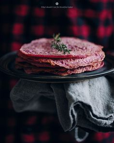 Beetroot pancakes / What should I eat for breakfast today