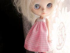 Blythe Dress Doll Gingham