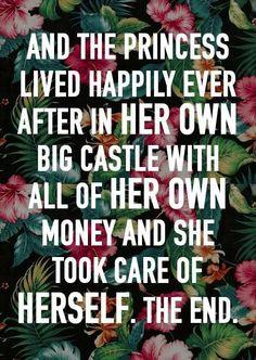 My castle isn't so big - but it's mine & I love it! Not mine and some a-hole.