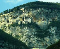 Santuario Madonna della Corona - monte baldo verona