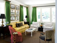Get rid of drab window treatments, and update your space with the hottest colors and latest fabrics.