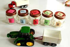 Counting with Grain Bins