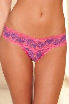 Subtelia Pink Up Crotchless