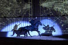 Centaur takes centrestage at Flux Singapore Art, Camille, Art Festival, Trance, Japanese, Horses, Park, Concert, Blue
