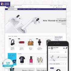 MetroShop - The Best Electronics Store is Responsive theme and designed for selling fashion Electronics,Mobile,,Apparel,Wear,Accessories,Clothing store. Theme is responsive and supports all devices,user-friendly and fine-looking.