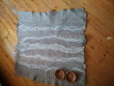 Felt CarpetNatural Wool CarpetHome DecorWool by LinaArtStudio