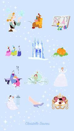 Cendrillon – fond d'écrans Disney – Crecre