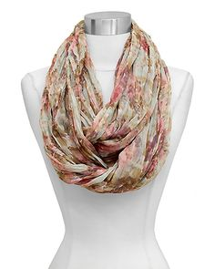 Infinity Scarf in Natural Beauty @Pascale Lemay De Groof