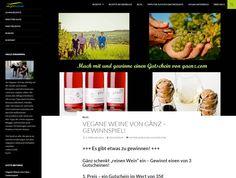 Gewinnt Gutscheine für veganen Bio-Wein im Wert von 75 Euro! Bei veganwavekönnt ihr noch bis 13. Februar 2016 drei Gutscheine...