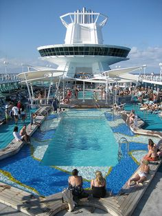 Royal Caribbean, Majesty of the Seas. This was our ship!!