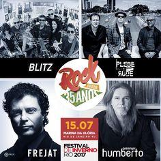 Festival de Inverno Rio 2017 - Rock Brasil 35 anos