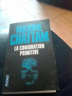 La conjuration primitive de Maxime Chattam (Stephanie Bianco)