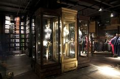 Superdry flagship store, London store design