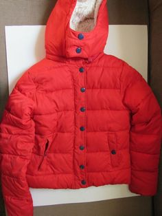 GYMBOREE FIRE TRUCK CHIEF BLACK PUFFER HOODED COAT 3 4 5 6 7 8 10 12 NWT