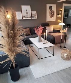 Top 5 Inexpensive Family Room ideas Beautiful Nordic living room inspiration Photo by Nordic Living Room, Living Room Decor Cozy, New Living Room, Living Room Interior, Home Room Design, Home Interior Design, Living Room Designs, Interior Decorating, Living Room Inspiration