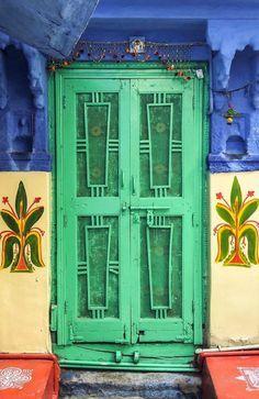 Crazy Green Door