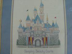 Cross Stitch Kit - Disney - Sleeping Beauty Castle