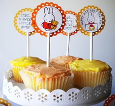 #cupcakes Miffy cupcakes     If you like this pin, re-pin or like it :)   http://subjectbase.com