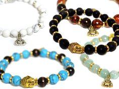Guilty Jean Semi-Precious Stone Buddha Bracelet from Gabrielle Bernstein on OpenSky