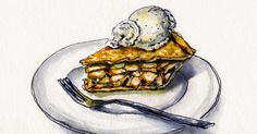 On drawing food as an art — and an emotional process.