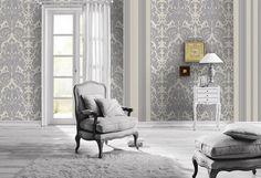 Die besten 25 silbergrau tapete ideen auf pinterest graue tapete schwarz siberne tapeten und - Silbergrau wandfarbe ...