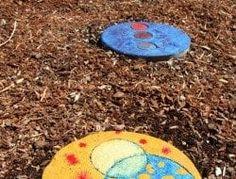 garden Crafts Stepping Stones – DIY Garden Stepping Stones… – Keep up with the times. Backyard Garden Landscape, Small Backyard Gardens, Modern Backyard, Large Backyard, Garden Landscaping, Diy Garden Decor, Garden Crafts, Garden Art, Garden Cottage