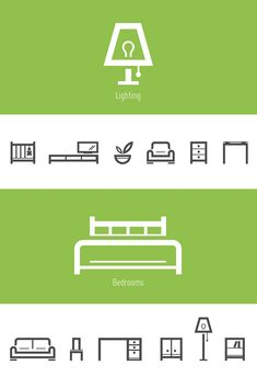 Furniture icons by Tom Nulens / Sodafish