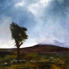 One Tree Hill, Ireland - Original Fine Art for Sale - © John Ogrady