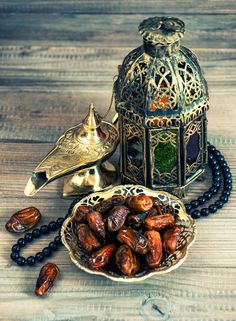 Check out dates, arabic lantern and rosary by LiliGraphie on Creative Market