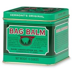 Bag Balm I Ly It To My Feet At Night And Then Put On