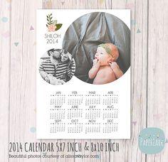 Family 2014 Calendar Photoshop template by PaperLarkDesigns Family Calendar, Calendar 2014, Christmas Templates, Baby Album, Calendar Design, Family Traditions, Photography Business, Photoshop, Polaroids