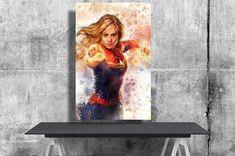 Captain Marvel Carol Danvers Avengers Endgame Brie Larson | Etsy